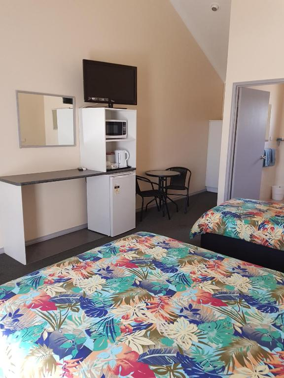 Double room disability access motel